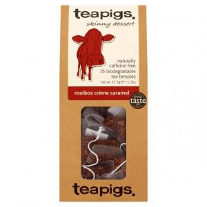 rooibos crème caramel ~ teapigs