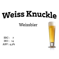 Weiss Knuckle Bier