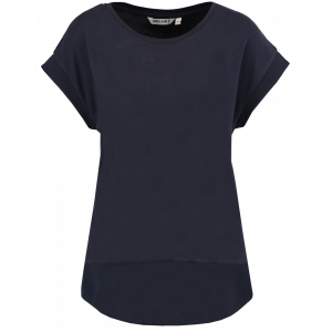 Ladies t-shirt ss, kontrastfelt