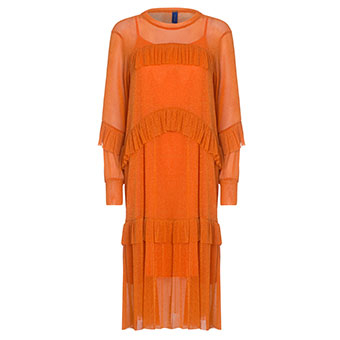 Katelyn Dress Orange