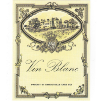 Vin Blanch Etiketter 30stk