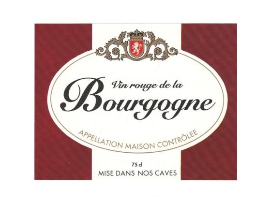 Bourgogne Etiketter 25stk