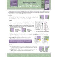 V block   Technoque Sheet fra Deb Tucker