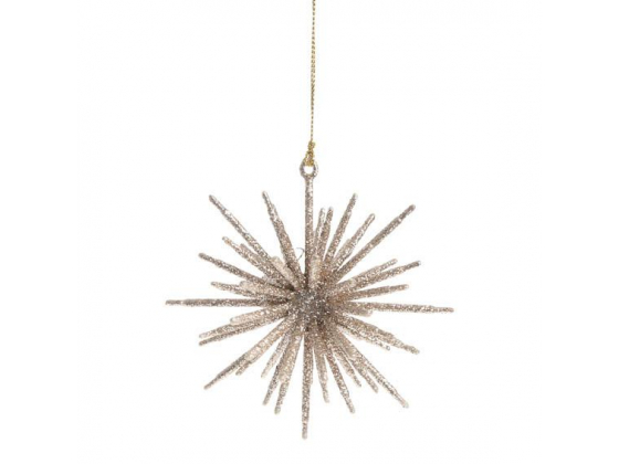 Ornament for hanging, Champagne