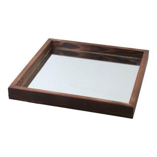 Fat m/speil 16,5x16,5