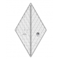 "Creative Grids 60° Diamond Ruler 8½"" By Krista Moser"