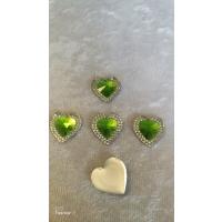 Hjerter Lys grønn