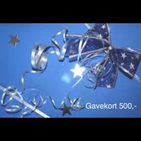 Gavekort 500,-