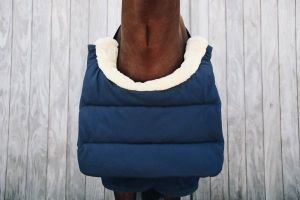 Kentucky Horse Bib Winter Svart og Navy