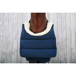 Kentucky Horse Bib Winter Svart og Navy