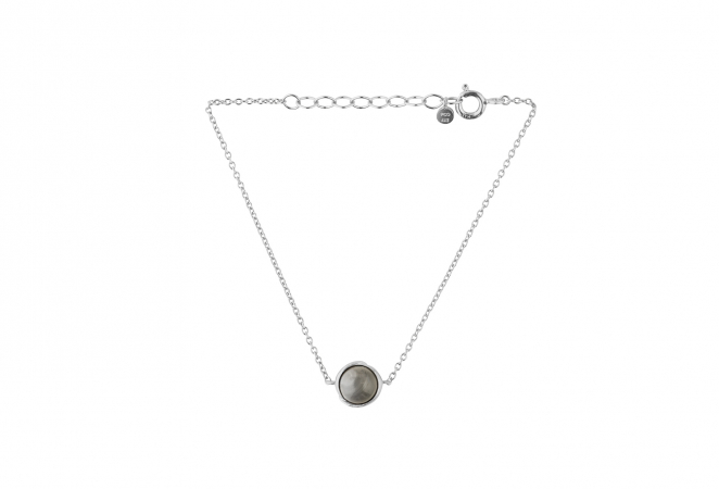 Armbånd Aura grey moonstone