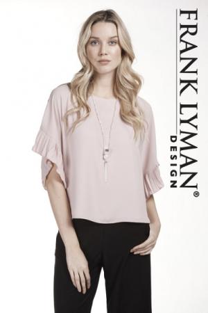 Frank Lyman festfin topp med smykke - The Dressingroom d8df3c1705