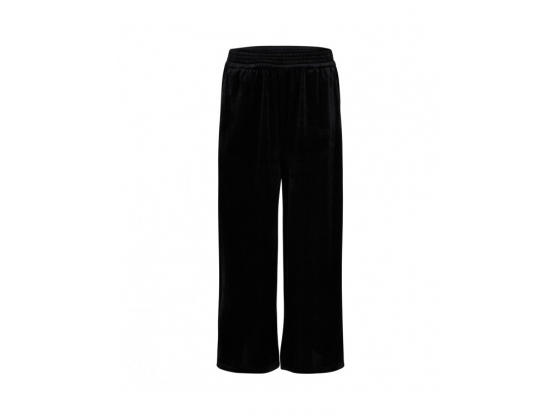 Cocouture Velvet Groove Cropped Pant