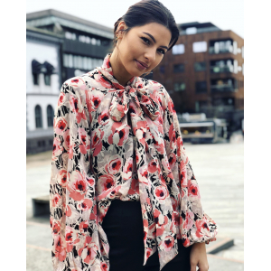 Semi couture bow Blouse