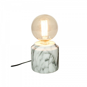LAMPE MARMOR FINISH 13X13CM (U/PÆRE)