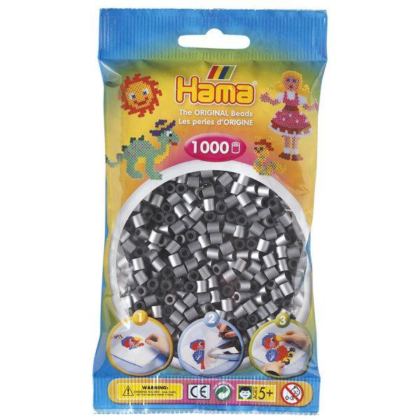 Hama Midi 1000 metall sølv