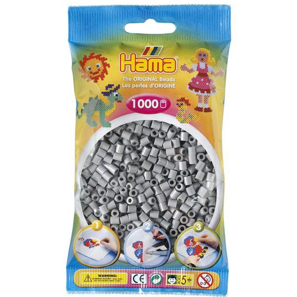 Hama Midi 1000 grå