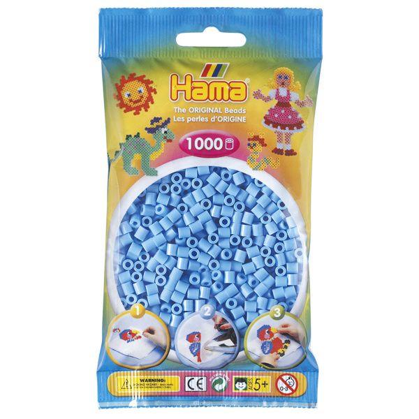 Hama Midi 1000 pastellblå