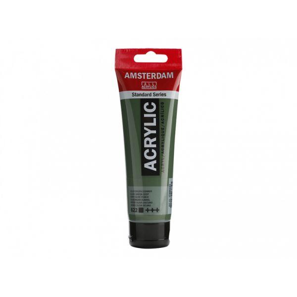 Amsterdam Standard 120ml – 622 Olive green deep