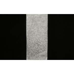 DEKOLØPER M/DIAMANTER SØLV 11,7X180CM