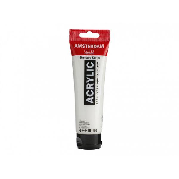 Amsterdam Standard 120ml – 105 Titanium white