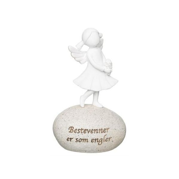 Figur på stein Bestevenner