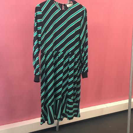 Monet Print Dress