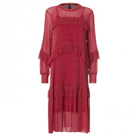 Katelyn Dress Red
