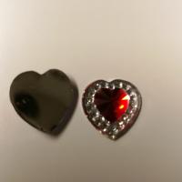Hjerter rød