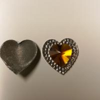 Hjerter gul/gull