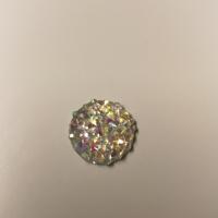 Runde blanke/glitrende perler