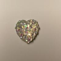 Hjerter glitrende blanke