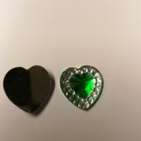 Små hjerter grønne