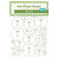 Bee In my Bonnet Sew Simple Shapes Templates Bloom