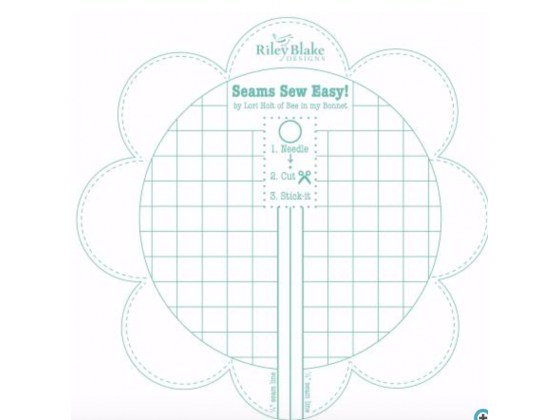 Bee In My Bonnet Seam Guide Color Aqua
