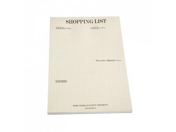 Bon Dep shopping list