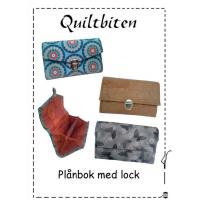 Lommebok med lokk - quiltbiten