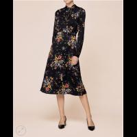 Satin bowtie Dress