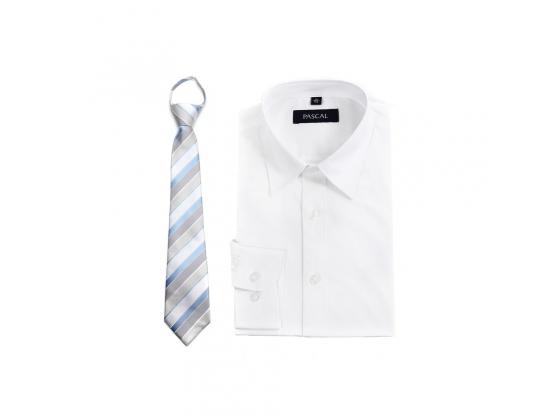 Hvit skjortepakke